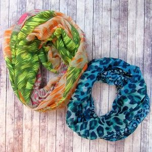 { INFINITY SCARF LOT }